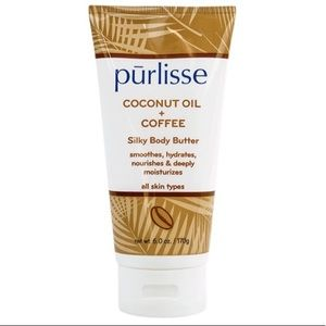 2/$20 Purlisse Coconut Oil/Coffee SilkyBody Butter